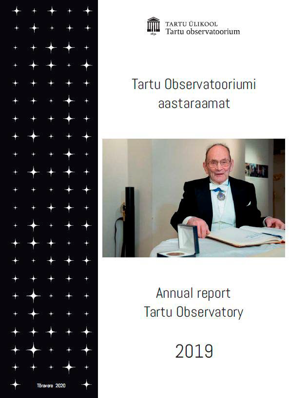 Cover of the Annual Report of 2019