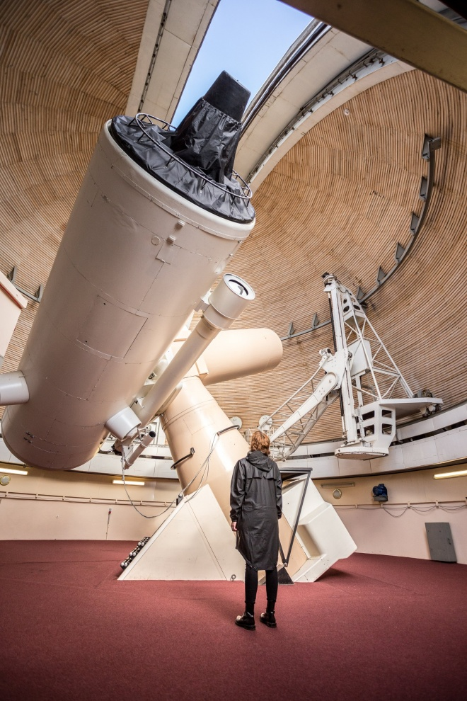 Largest telescope in the Nordic countries. Photo: Renee Altrov