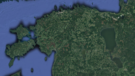 Remote sensing enables to gather data easier than in situ measurements. Image: screenshot from Google Maps